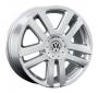 Replica VW6 - Общие характеристики  Тип : литые Материал : алюминиевый сплав Цвет : серебристый