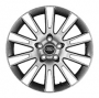 Replica 819 - Общие характеристики  Тип : литые Материал : алюминиевый сплав Цвет : серебристый  серебристый+черный