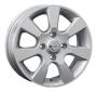 Replica NS23 - Общие характеристики  Тип : литые Материал :   алюминиевый сплав Цвет : серебристый