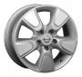 Replica NS25 - Общие характеристики  Тип : литые Материал :   алюминиевый сплав Цвет : серебристый