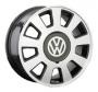 Replica VW4 - Общие характеристики  Тип : литые Материал : алюминиевый сплав Цвет : серебристый