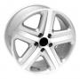 Replica W440 - Общие характеристики  Тип : литые Материал : алюминиевый сплав Цвет : серебристый