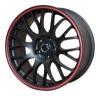 Replica 817 Multi - Общие характеристики  Тип : литые Материал : алюминиевый сплав Цвет : черный+красный