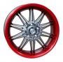 Replica 813 Multi - Общие характеристики  Тип : литые Материал : алюминиевый сплав Цвет : красный