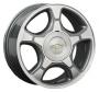 Replica GM19 7.0x17/6x127 D70.1 ET50 -  Тип : литые Цвет : серебристый Крепежные отверстия : 6 Диаметр центрального отверстия : 70.1 мм