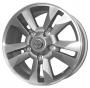 Replica 577 Toyota 8x17/5x150 ET60 -  Тип : литые Цвет : серебристый Крепежные отверстия : 5 Диаметр центрального отверстия : 110.5 мм
