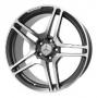 Replica W759 - Общие характеристики  Тип : литые Материал : алюминиевый сплав Цвет : серебристый+черный