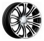 Replica B84 - Общие характеристики  Тип : литые Материал : алюминиевый сплав Цвет : серебристый  серебристый+черный